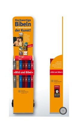 Abbildung von Die Lutherbibel mit Meisterwerken der Kunst + Verkaufstrolley   2014   15 Bibeln im Verkaufstrolley