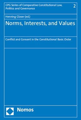 Abbildung von Glaser (Hrsg.) | Norms, Interests, and Values | 2015 | Conflict and Consent in the Ba... | 2