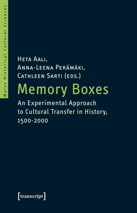 Memory Boxes | Aali / Perämäki / Sarti, 2014 | Buch (Cover)