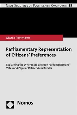 Abbildung von Portmann | Parliamentary Representation of Citizens' Preferences | 2014 | Explaining the Differences Bet... | 15