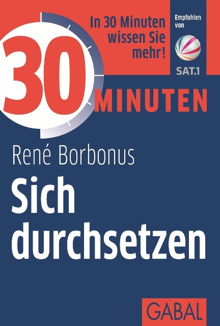 30 Minuten Sich durchsetzen | Borbonus | 2. Auflage 2015, 2014 | Buch (Cover)