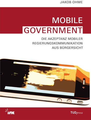 Mobile Government | Ohme / Donsbach / Hagen, 2014 | Buch (Cover)