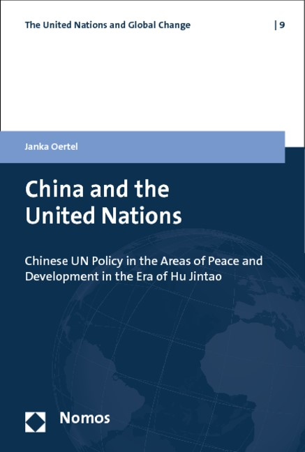 China and the United Nations | Oertel, 2014 | Buch (Cover)
