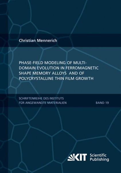 Abbildung von Mennerich | Phase-field modeling of multi-domain evolution in ferromagnetic shape memory alloys and of polycrystalline thin film growth | 2014