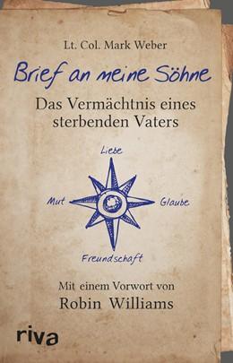 Abbildung von Weber | Brief an meine Söhne | 1. Auflage | 2014 | beck-shop.de