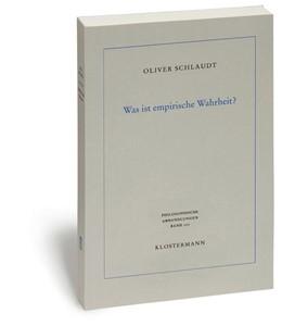 Abbildung von Schlaudt   Was ist empirische Wahrheit?   1., 2014   2014   Pragmatische Wahrheitstheorie ...   107