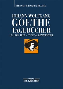 Abbildung von Albrecht | Johann Wolfgang Goethe: Tagebücher | 2015 | Band VIII,1 und VIII,2 (1821–1...