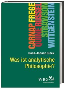 Abbildung von Glock   Was ist analytische Philosophie?   2014