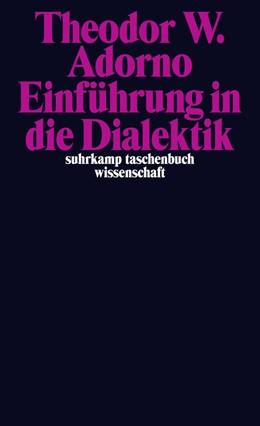 Abbildung von Adorno / Ziermann | Nachgelassene Schriften. Abteilung IV: Vorlesungen | 2015 | Band 2: »Einführung in die Dia... | 2128