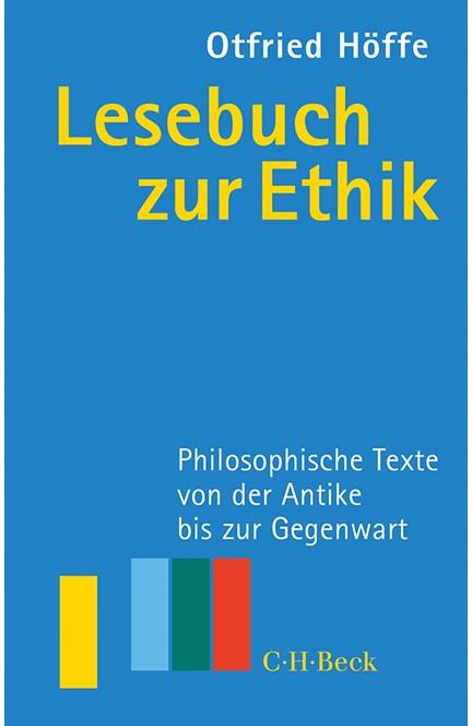 Cover: , Lesebuch zur Ethik
