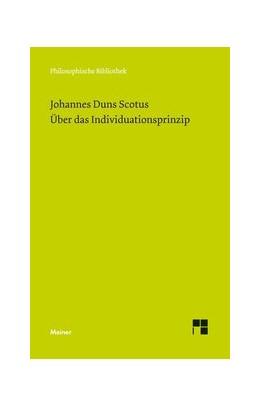 Abbildung von Duns Scotus / Leidi   Über das Individuationsprinzip   1. Auflage   2015   668   beck-shop.de