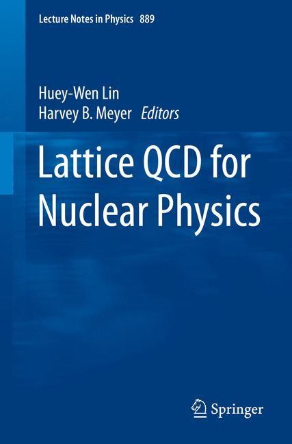 Lattice QCD for Nuclear Physics | Lin / Meyer, 2014 | Buch (Cover)