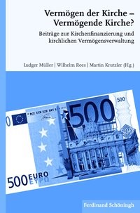 Vermögen der Kirche - Vermögende Kirche?   Müller / Rees / Krutzler   1. Aufl. 2015, 2014   Buch (Cover)