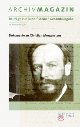 Abbildung von Hoffmann | Archivmagazin (Beiträge zur Rudolf Steiner Gesamtausgabe) | 2014 | Nr. 3, Oktober 2014, Dokumente...