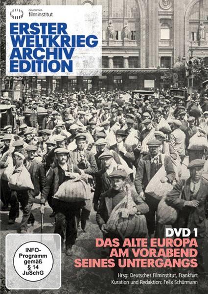 Erster Weltkrieg Archivedition (DVD 1), 2014 (Cover)