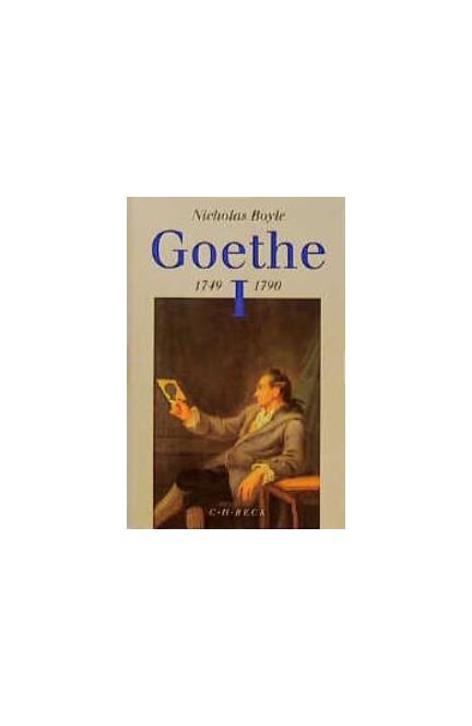 Cover: Nicholas Boyle, Goethe: 1749-1790