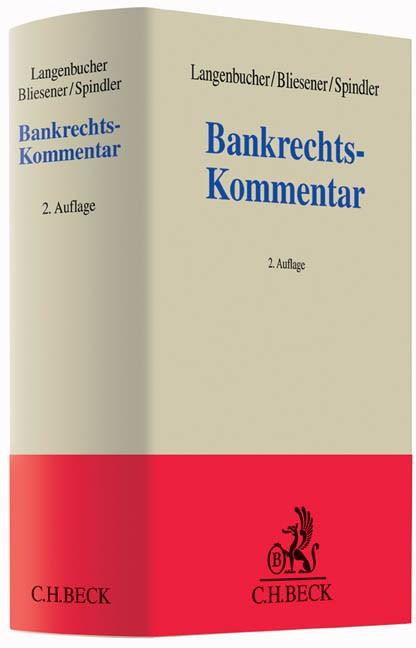 Bankrechts-Kommentar | Langenbucher / Bliesener / Spindler | 2. Auflage, 2016 | Buch (Cover)