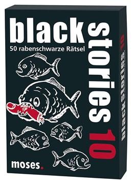 Abbildung von Bösch | black stories 10 | 2014 | 50 rabenschwarze Rätsel