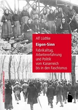 Abbildung von Lüdtke | Eigen-Sinn | 1. Auflage | 2015 | beck-shop.de