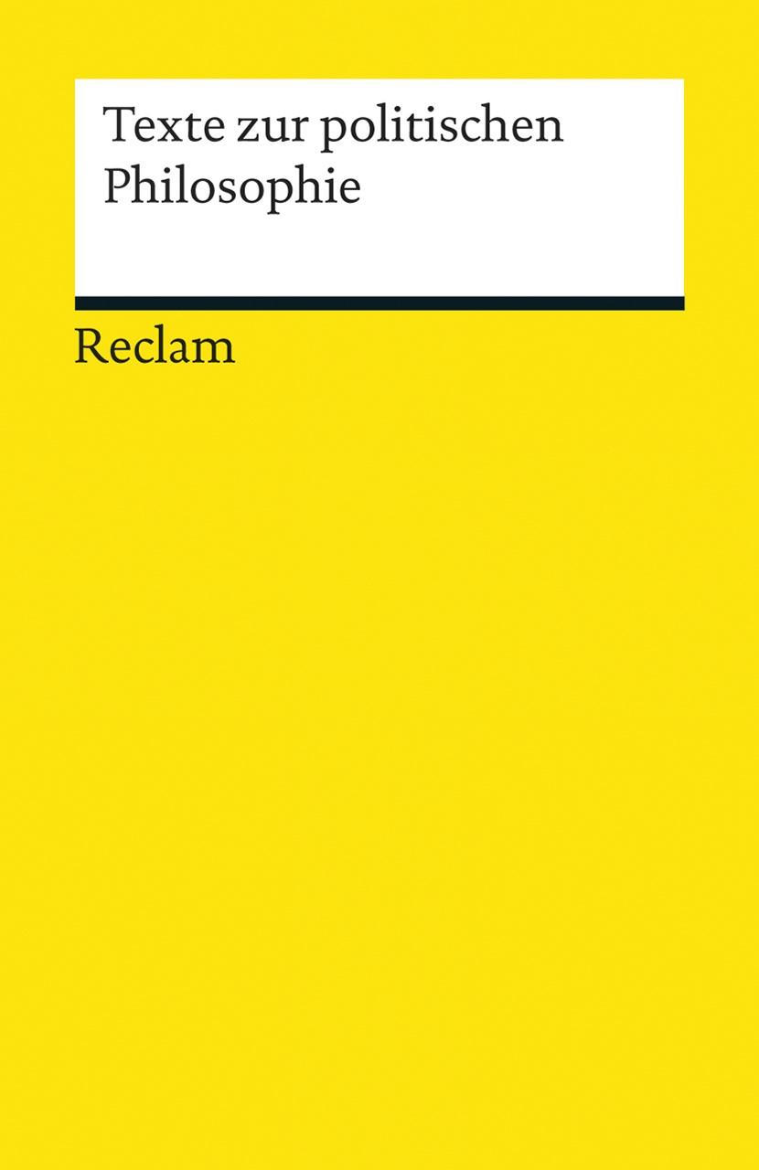 Texte zur Politischen Philosophie | Ackeren, 2014 | Buch (Cover)