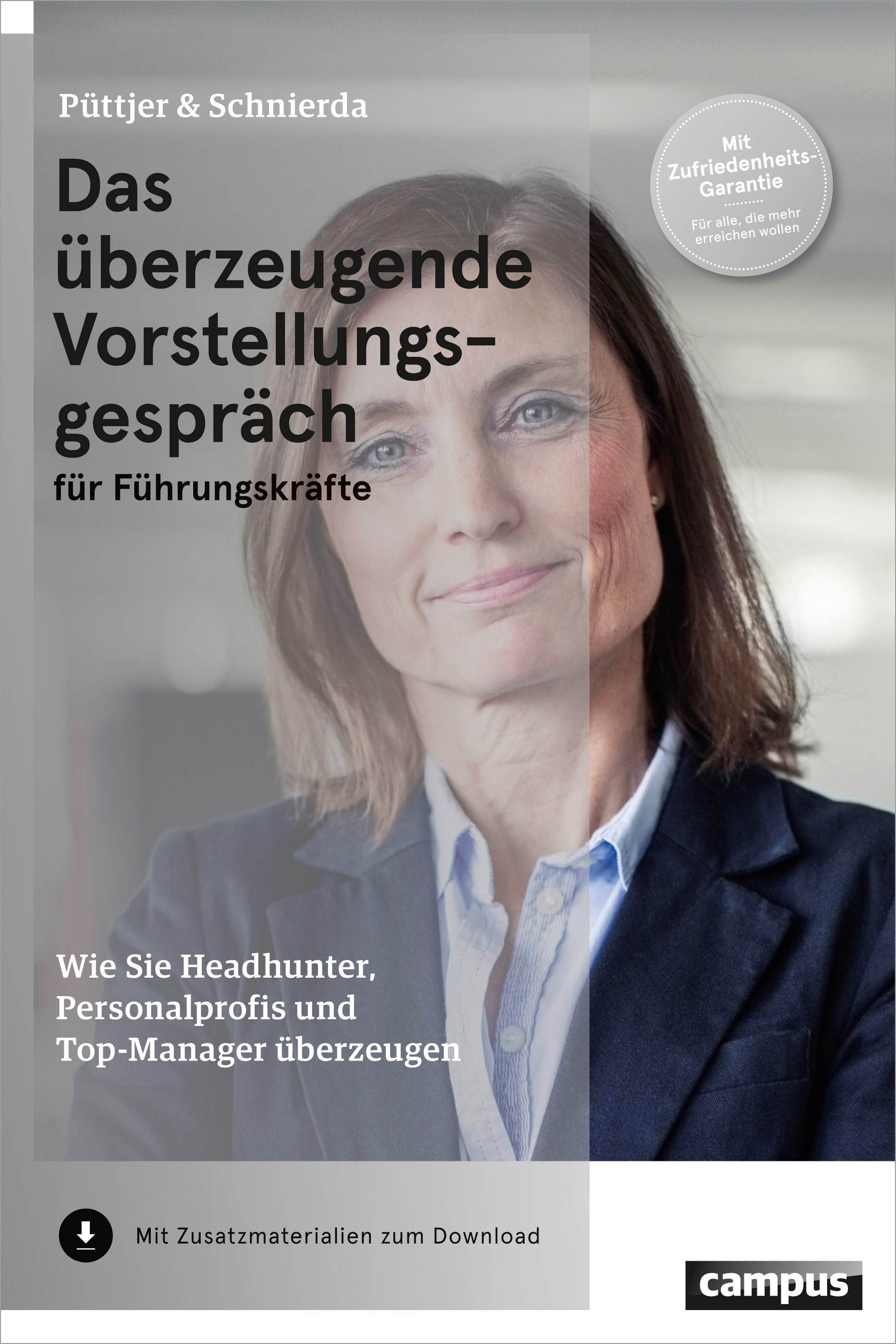 Das überzeugende Vorstellungsgespräch für Führungskräfte | Püttjer / Schnierda | 3. aktualisierte Auflage, 2014 | Buch (Cover)