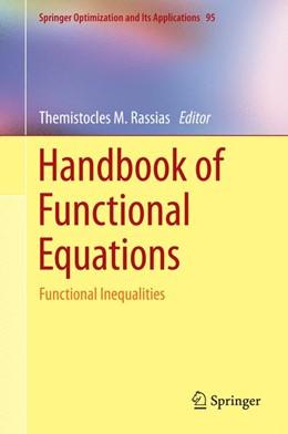 Abbildung von Rassias | Handbook of Functional Equations | 1. Auflage | 2014 | 95 | beck-shop.de