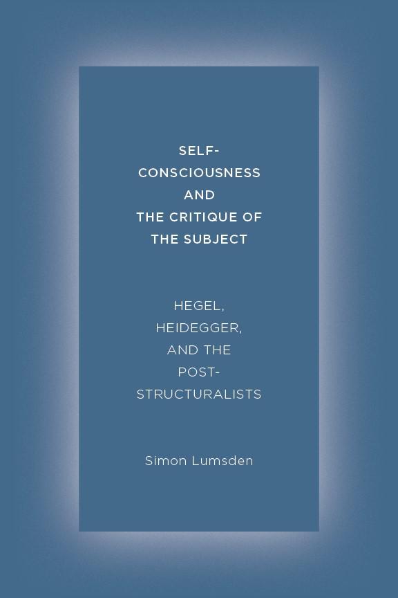 Abbildung von Lumsden   Self-Consciousness and the Critique of the Subject   2014