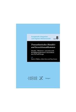 Abbildung von Welfens / Korus   Transatlantisches Handels- und Investitionsabkommen   1. Auflage   2014   beck-shop.de