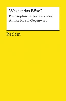 Abbildung von Schäfer | Was ist das Böse? | 2014 | Philosophische Texte von der A... | 19260