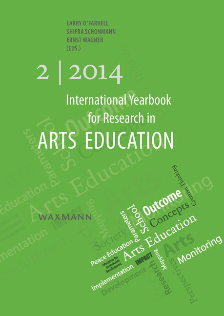 International Yearbook for Research in Arts Education 2/2014   O'Farrell / Schonmann / Wagner, 2014   Buch (Cover)