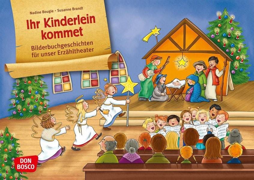 Bilderbuchgeschichten für unser Erzähltheater: Ihr Kinderlein kommet. Eine musikalische Mitmachgeschichte | Brandt, 2014 (Cover)