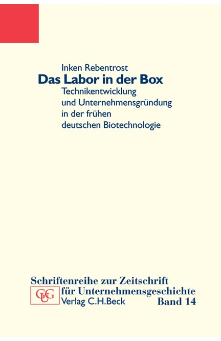 Cover: Inken K. Rebentrost, Das Labor in der Box