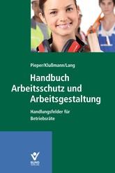 Handbuch Arbeitsschutz und Arbeitsgestaltung   Klußmann / Pieper / Lang   Buch (Cover)
