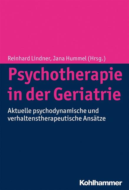 Psychotherapie in der Geriatrie | Lindner / Hummel, 2014 | Buch (Cover)