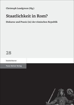 Abbildung von Lundgreen   Staatlichkeit in Rom?   1. Auflage   2014   beck-shop.de