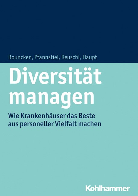 Diversität managen | Bouncken / Pfannstiel / Reuschl, 2015 | Buch (Cover)