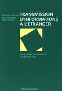 Transmission d'informations à l'étranger | du Pasquier / Oberson / Fischer, 2014 | Buch (Cover)