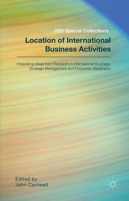 Location of International Business Activities | . / Cantwell | 2014, 2014 | Buch (Cover)