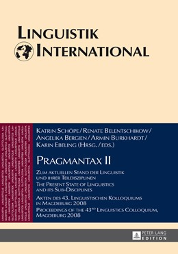 Abbildung von Schöpe / Belentschikow   Pragmantax II   1. Auflage   2014   31   beck-shop.de
