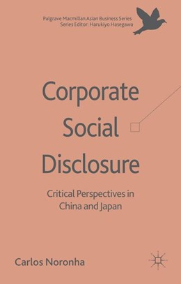 Abbildung von Noronha | Corporate Social Disclosure | 1. Auflage | 2014 | beck-shop.de