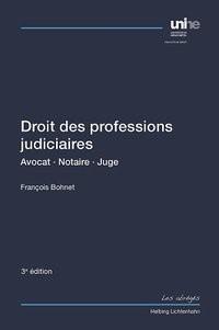 Abbildung von Bohnet | Droit des professions judiciaires | 3. Auflage | 2014