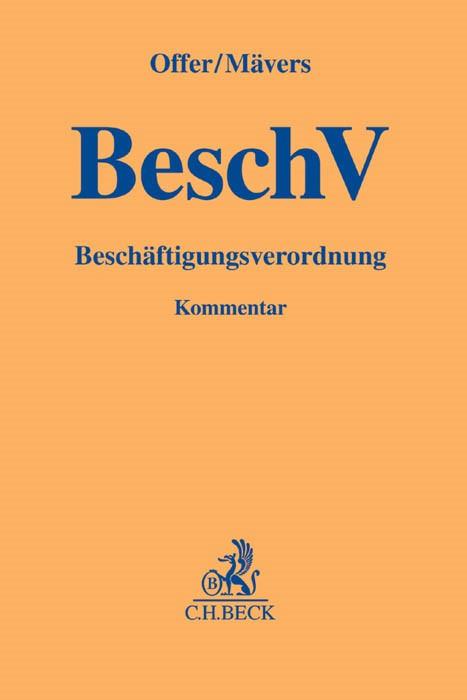 Beschäftigungsverordnung | Offer / Mävers, 2016 | Buch (Cover)