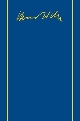 Abbildung von Weber / Lepsius   Max Weber-Gesamtausgabe   1. Auflage   2016   beck-shop.de