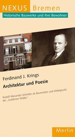 Abbildung von Krings | Architektur und Poesie | 1. Auflage | 2015 | beck-shop.de
