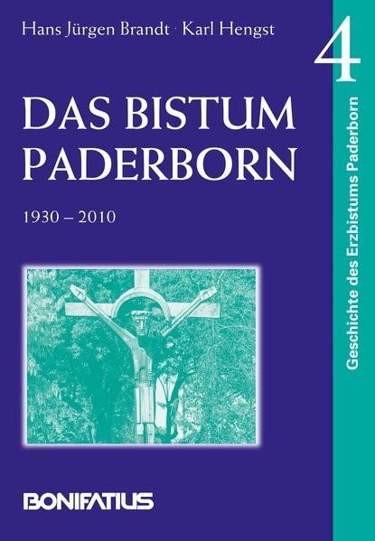 Das Bistum Paderborn 1930-2010   Brandt / Hengst, 2014   Buch (Cover)