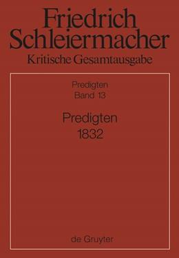 Abbildung von Schmid | Predigten 1832 | 2014