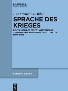 Abbildung von Edelmann-Ohler | Sprache des Krieges | 2014 | Deutungen des Ersten Weltkrieg... | 88