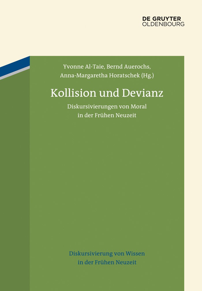 Abbildung von Al-Taie / Auerochs / Horatschek | Kollision und Devianz | 2015