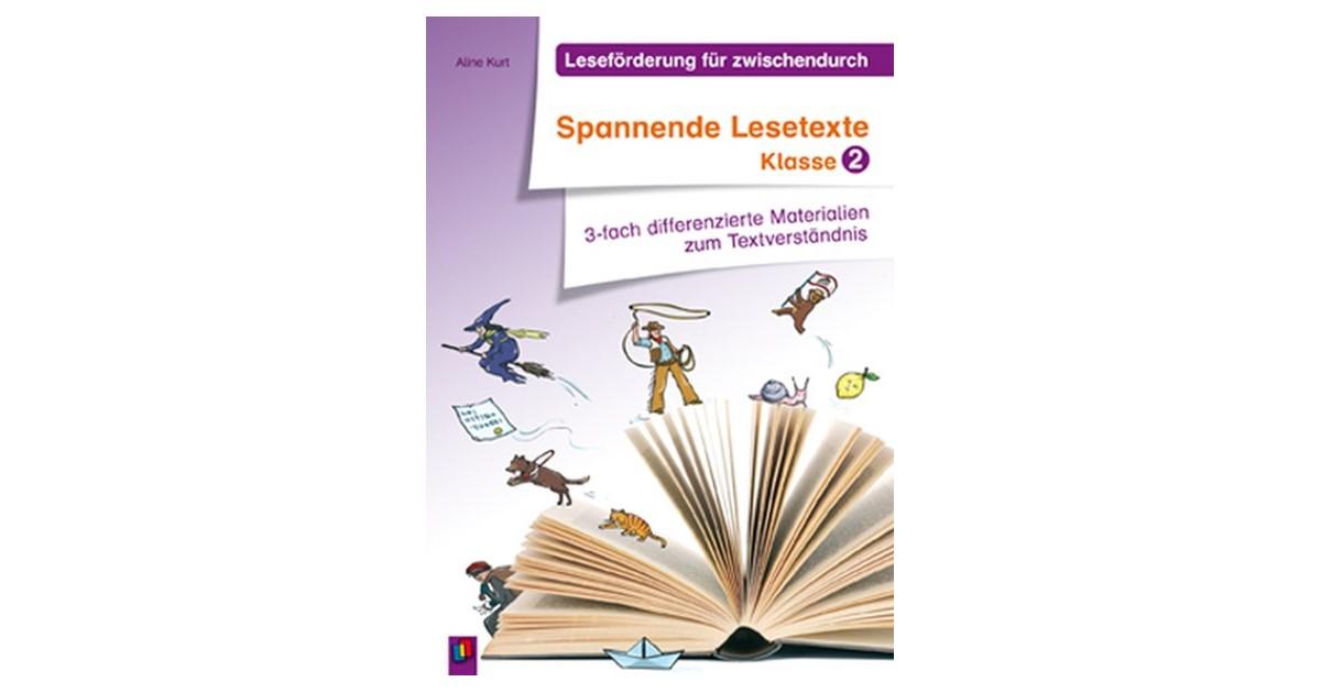 Kurt Leseförderung Für Zwischendurch Spannende Lesetexte Klasse 2