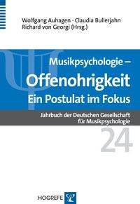 Abbildung von Auhagen / Bullerjahn / von Georgi   Musikpsychologie   2015